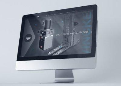 VINCKE Hydraulics, web profesional