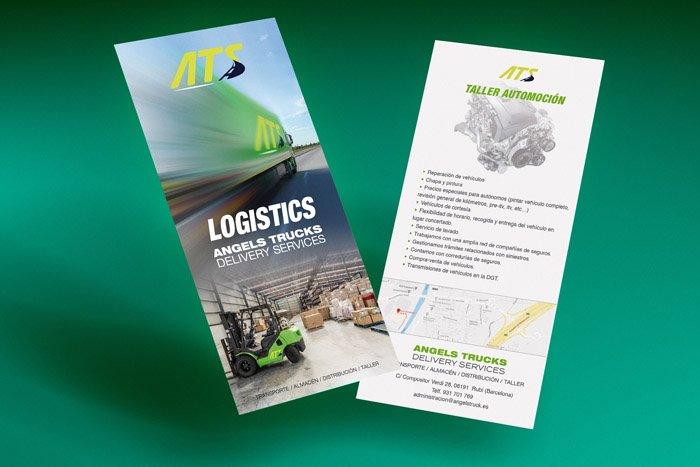 angeltruck delivery services publicidad polo grafico 700 8