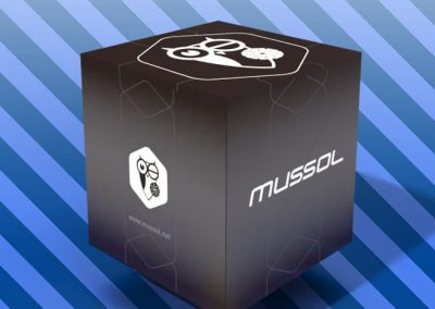 Mussol, Black Box Collection. Diseño de embalaje