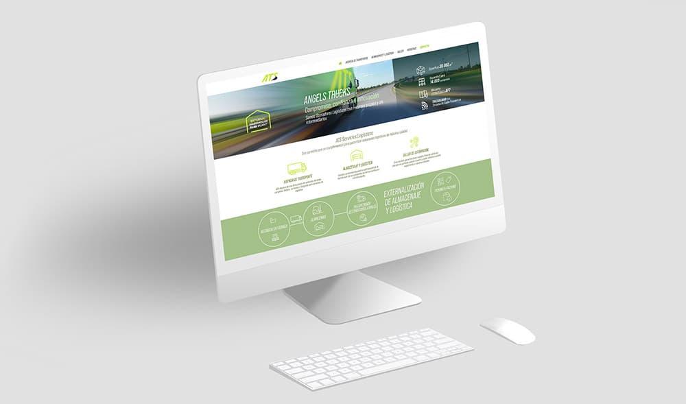 ANGELS TRUCKS, Operador Logístico con recursos propios y sin intermediarios. Web profesional.